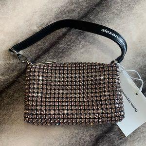 { Alexander Wang } Wangloc Crystal Mini Pouch Bag